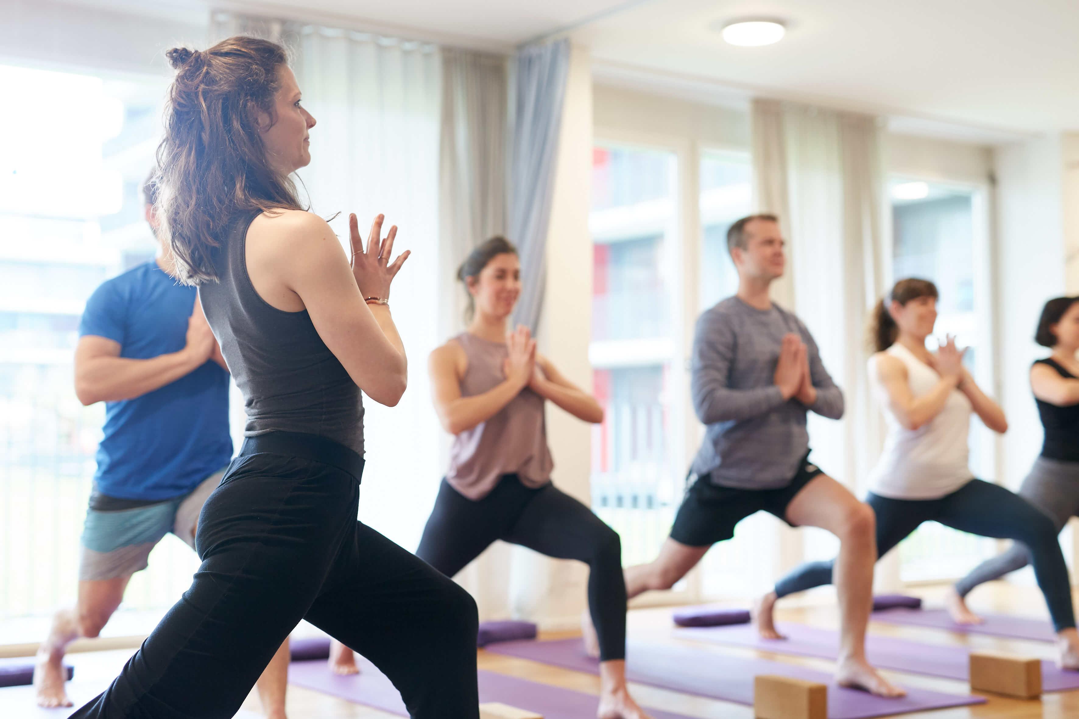 Yogaklasse in Luzern