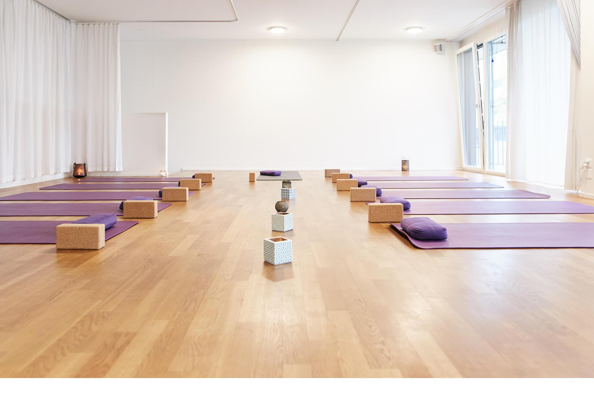 Studio ist bereits für Yoga in Luzern